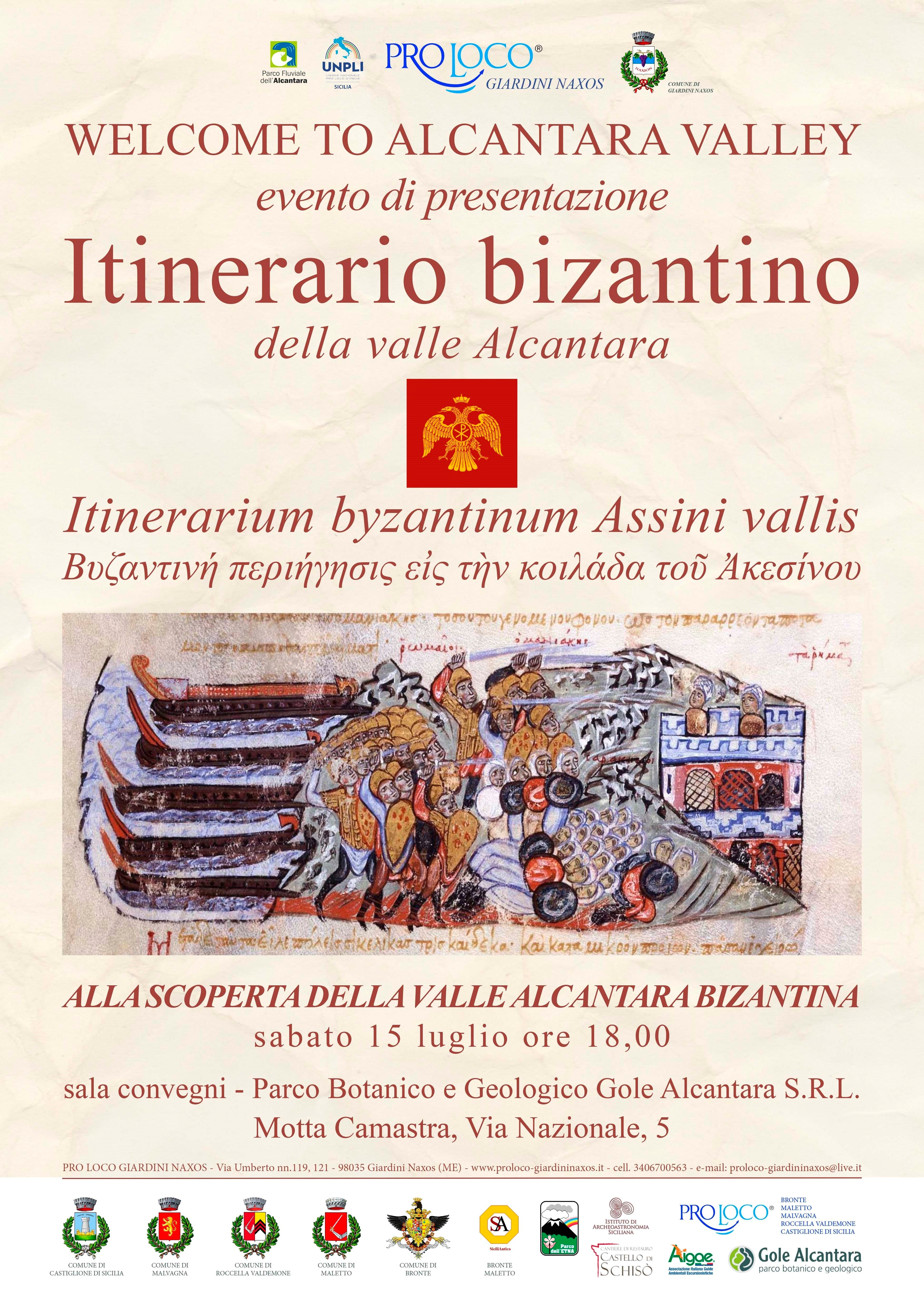 itinerario-bizantino